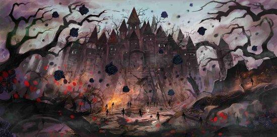 OZombie арт – мрачное королевство.