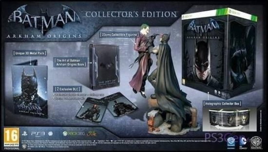 Коллекционное издание Batman: Arkham Origins