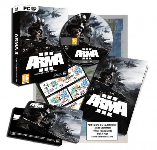 Анонс ArmA 3 Limited Deluxe Edition
