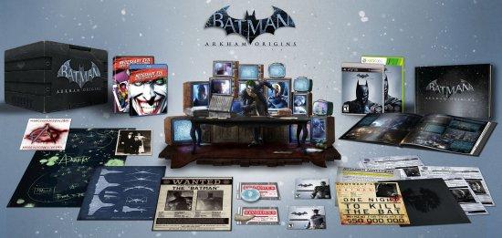 Американское коллекционное издание Batman: Arkham Origins