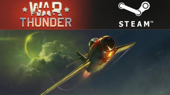 War Thunder доступен в Steam