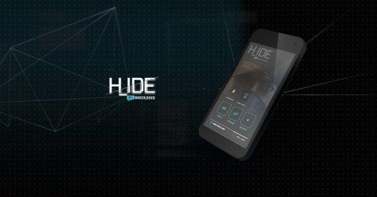 Watch Dogs – мобильное приложение H_IDE