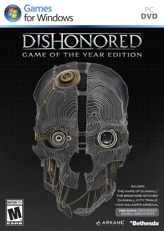 Bethesda анонсировала Dishonored: Game of the Year Edition