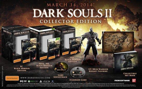 Дата выхода и коллекционные издания Dark Souls 2