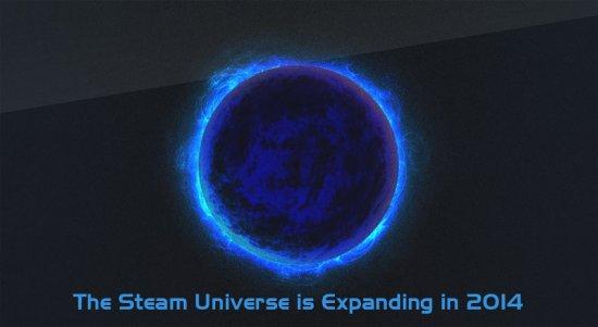 Вселенная Steam расширится в 2014