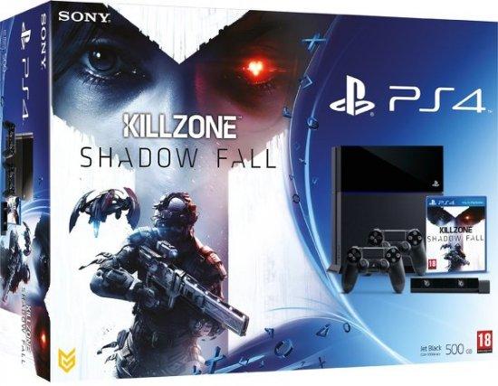 Официальный анонс бандла PS4 с Killzone, камерой и геймпадами