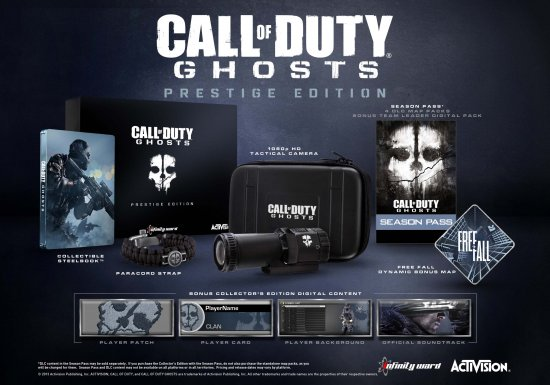 Call of Duty: Ghosts. Prestige Edition