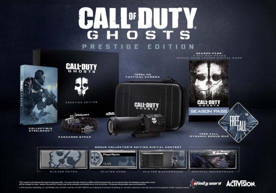 Call of Duty: Ghosts. Prestige Edition