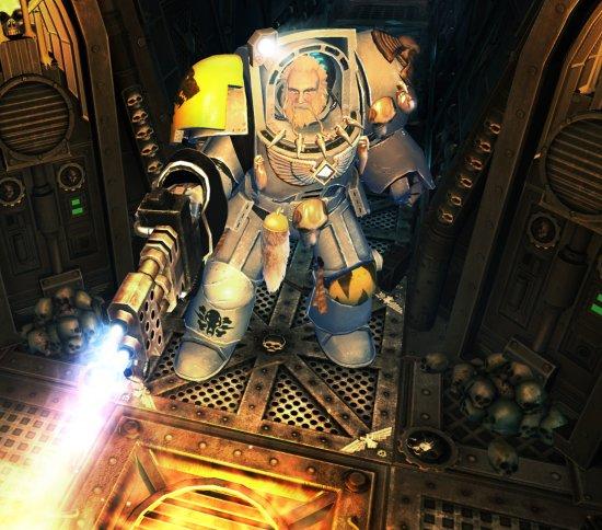 Терминаторы Волчьей Стражи в Space Hulk