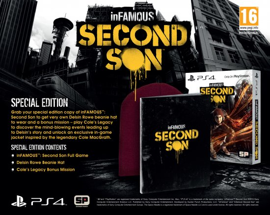 inFAMOUS: Second Son - Special Edition EU