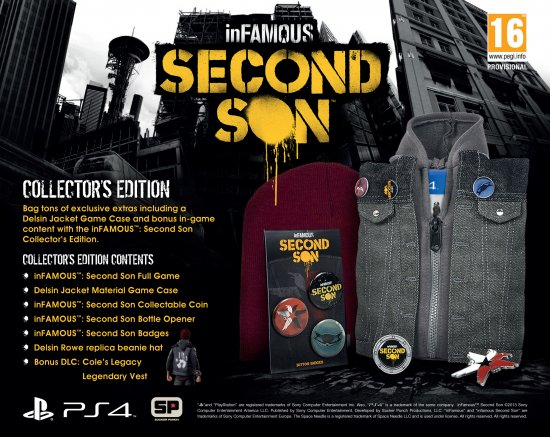 inFAMOUS: Second Son Collector's Edition EU
