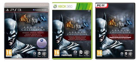 Анонсирован сборник Batman Arkham Collection