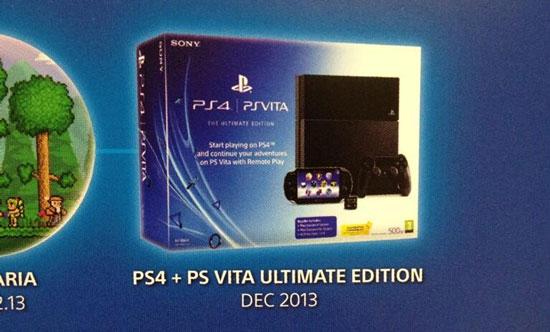 Sony выпустит бандл PS4+PS Vita