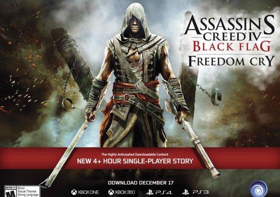 DLC Крик Свободы для Assassin's Creed 4: Black Flag