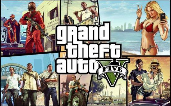 Grand Theft Auto V – игра года мнению Spike VGX 2013