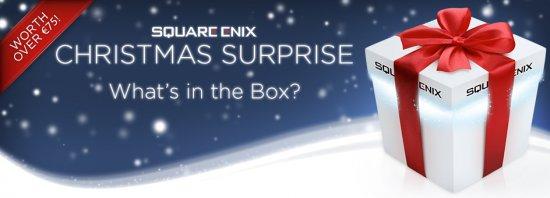 Рождественский сюрприз от магазина Square Enix
