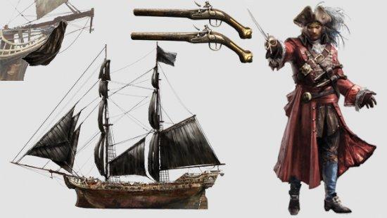 Новые костюмы и миссии для Assassin's Creed 4: Black Flag
