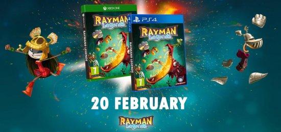 Rayman Legends на новых консолях выйдет раньше