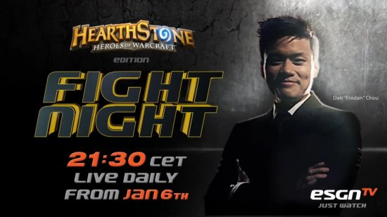 Премьерный Эпизод Fight Night от ESGNTV