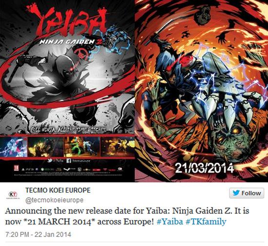 Yaiba: Ninja Gaiden Z выйдет с задержкой в Европ