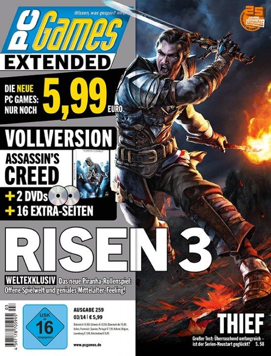 Risen 3: Titan Lords анонсирован на обложке PC Games
