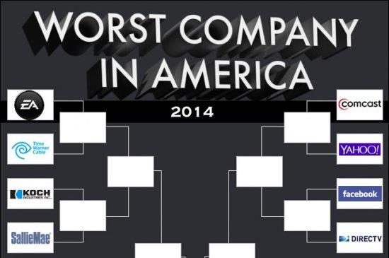 Electronic Arts вновь номинировали на худшую компанию в Америке