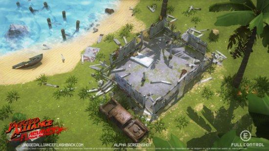 Jagged Alliance: Flashback уже на стадии закрытого тестирования
