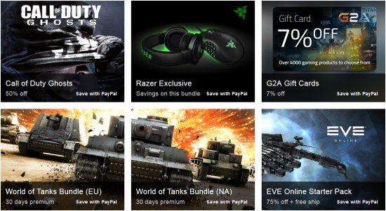 Четвертая неделя распродажи игр от PAYPAL