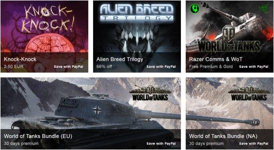 Шестая неделя распродажи игр от PAYPAL