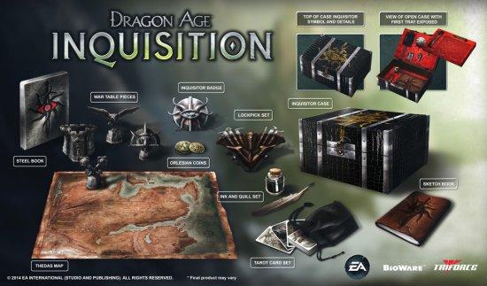 Специальное издание Dragon Age: Inquisition за $170