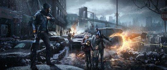 Tom Clancy's The Division перенесен на 2015 год