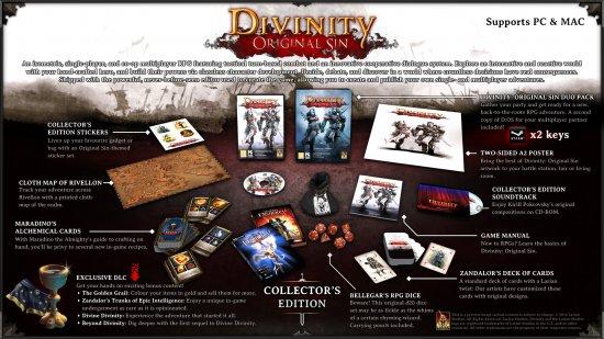 Коллекционное издание Divinity: Original Sin