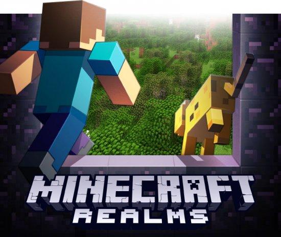 Minecraft Realms – предустановленный сервер за небольшую абонплату