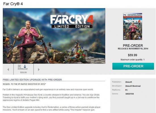 Герой Far Cry 4 окажется втянутым в гражданскую войну