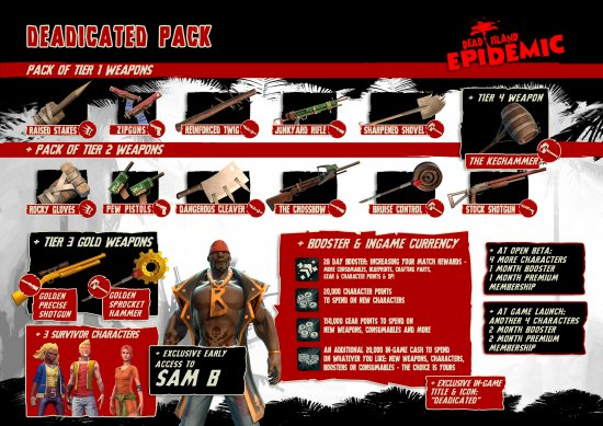Deadicated Pack