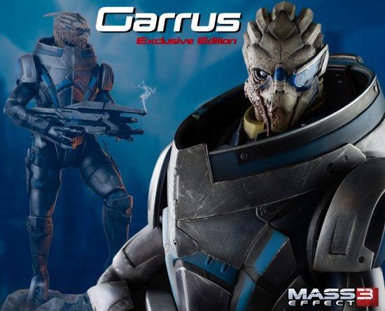 Коллекционная статуэтка Гарруса от Gaming Heads