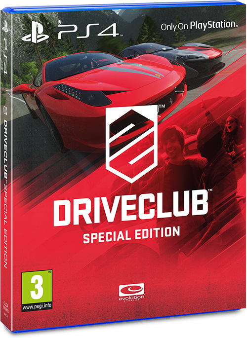 Специальное издание Driveclub