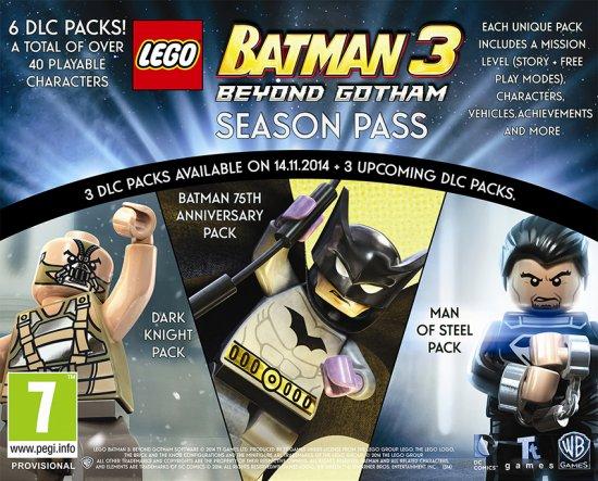 Анонсирован сезонный пропуск для LEGO Batman 3: Beyond Gotham