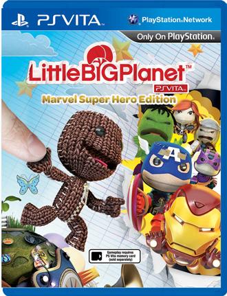 Герои Marvel в LittleBigPlanet для PS Vita