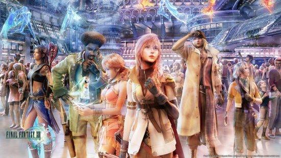 Трилогия Final Fantasy 13 выйдет на ПК