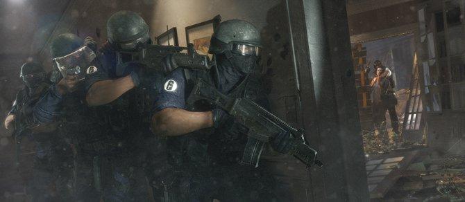 В Rainbow Six Siege будет одна жизнь на матч