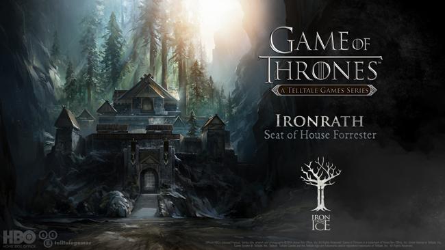 Некоторые детали Game of Thrones - A Telltale Games Series