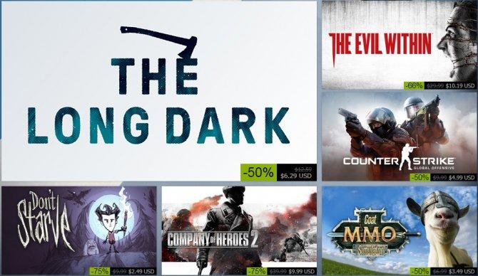 Стартовала осенняя распродажа Steam