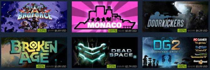 Стартовала зимняя распродажа в Steam