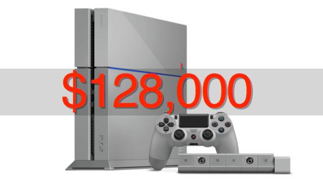 Первая PlayStation 4 «20 лет PlayStation» продана за 128 тысяч долларов