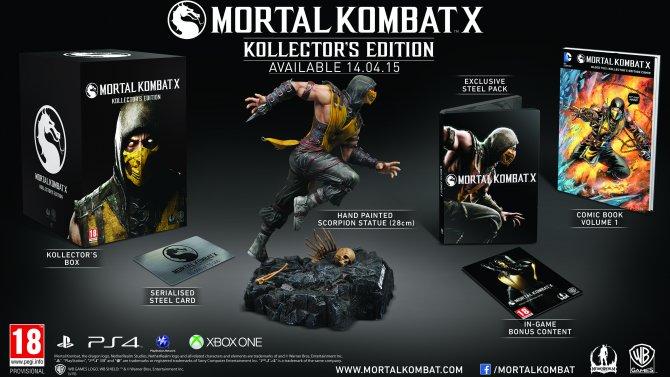 Mortal Kombat X Kollector's Edition