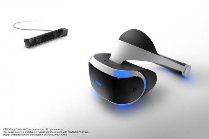 Project Morpheus показан на GDC 2015, выходит в 2016 году