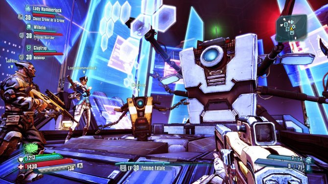 DLC Claptastic Voyage к Borderlands: The Pre-Sequel