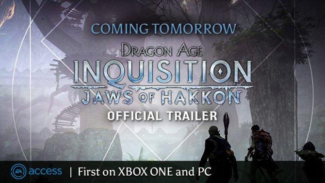 Завтра покажут трейлер первого сюжетного дополнения Dragon Age: Inquisition