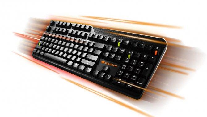 Клавиатура Cougar Attack 2 – ничего лишнего